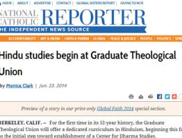 Hindu studies begin at Graduate Theological Union