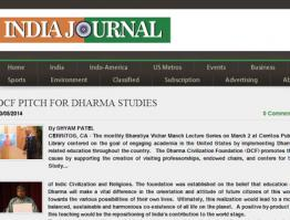 DCF Pitch for Dharma Studies