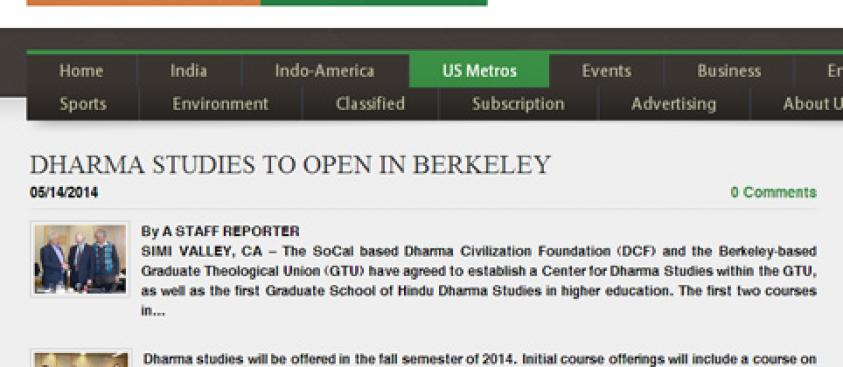 Dharma Studies to Open in Berkeley